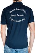 Beflockung Poloshirt Team Schmid
