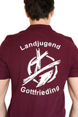 Beflockung Poloshirt Landjugend