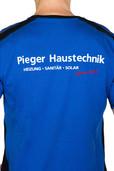 Beflockung T-Shirt Rieger Haustechnik