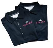 Beflockung Poloshirts DEKEMA
