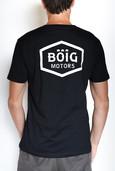 "Flockdruck T-Shirts ""Böig Motors"""