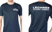Beflockung T-Shirt Lechner