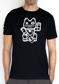 """Beflockung T-Shirt """"Lucky Cat"""""""