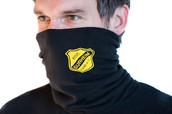 Beflockung Mund-/Nasenschutz BSC Surheim