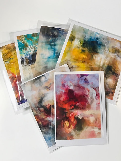 Set of 6 Fine Art Cards