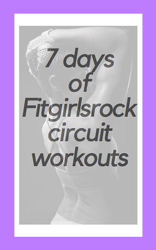 E-Book: 7 Days of Fitgirlsrock Circuit Workouts