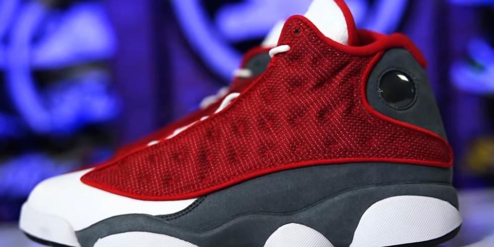 Air Jordan 13 Red Flint Raffle