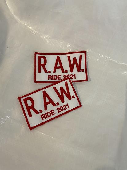 2021 RAW Ride Patch