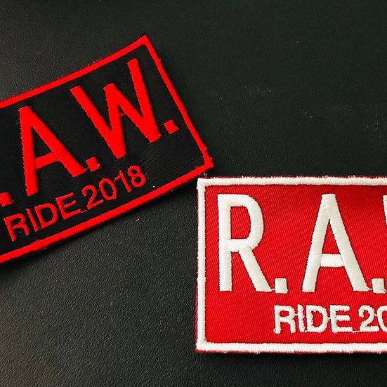 RAW Ride 2018, 2019 Patch