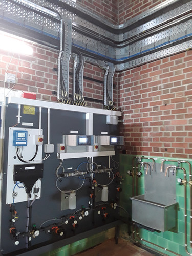 Saddlescombe WTW UV Disinfection Plant