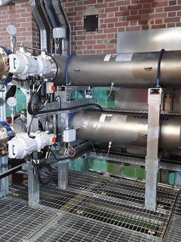 Saddlescombe WTW UV Disinfection Plant
