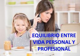 EQUILIBRIO PERSONAL Y PROFESIONAL