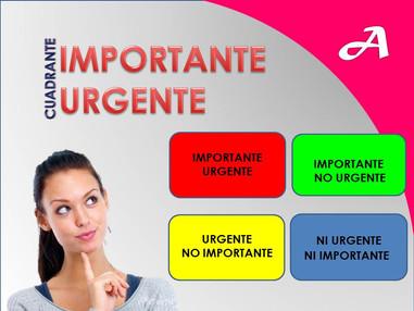 CUADRANTE IMPORTANTE-URGENTE