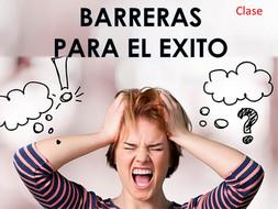 BARRERAS PARA EL ÉXITO