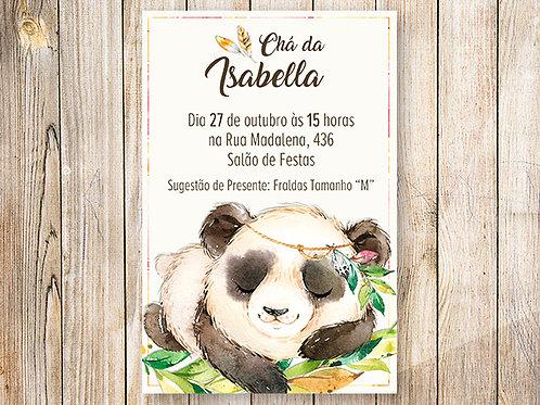 Convite Digital Panda