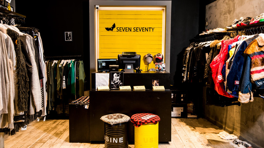 seven seventy store