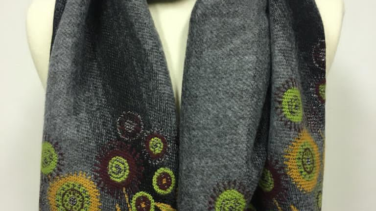 winterscarf gris