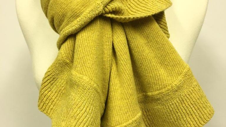 Winterscarf jaune