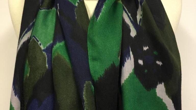 Scarf  Bleu/Vert