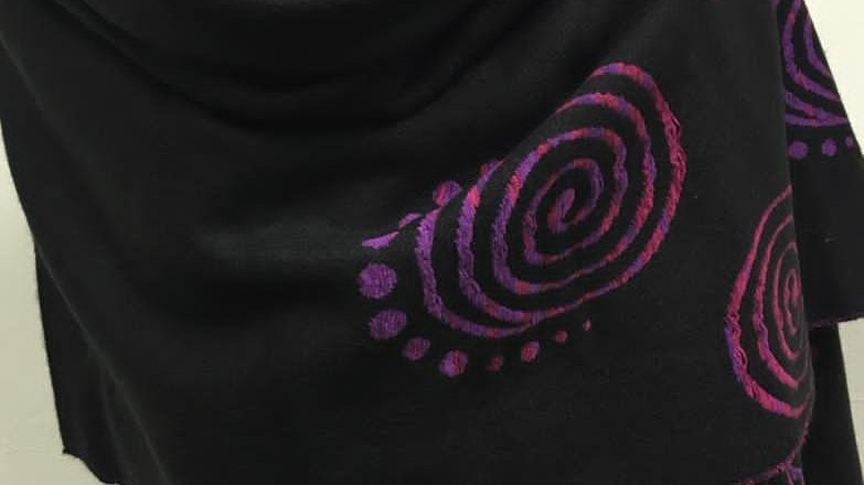 winterscarf black