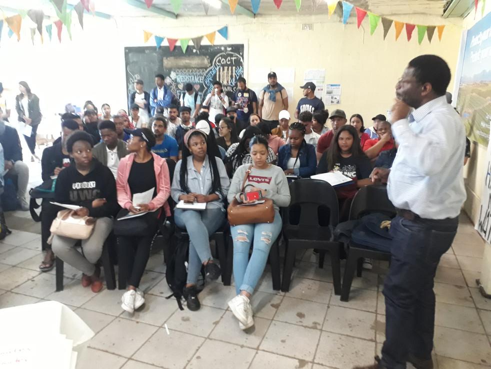 Prof Daniel Tevera and students visit- 2