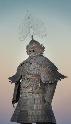 Desert Guard by Lu Ming