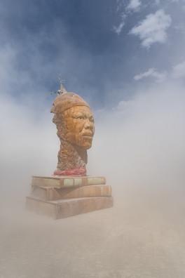 Maya's Mind in a Dust Storm by Mishelle Phoenix