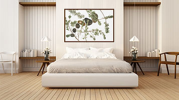 Minimal, Earthy, Organic, Art in Your Bedroom and Interior Design