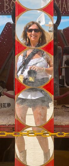 Burning Man Photographer Debbie Wolff is a Visual Artist.