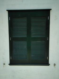 Persiana color verde Menorca