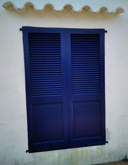 Persianas color azul