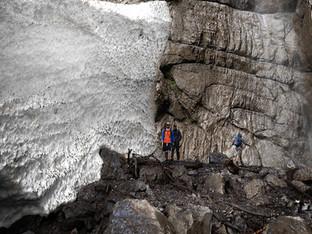 Klöntalersee - Wasserfall