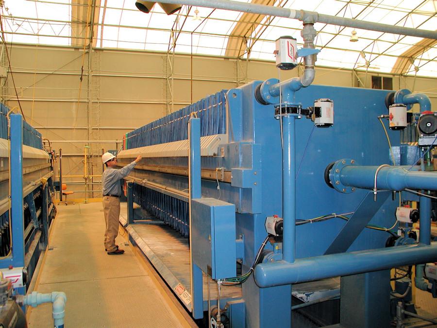 Large Filter Press