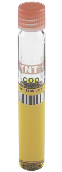 Hach TNT vial for high range COD
