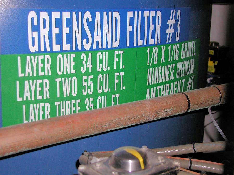 Greensand Filter
