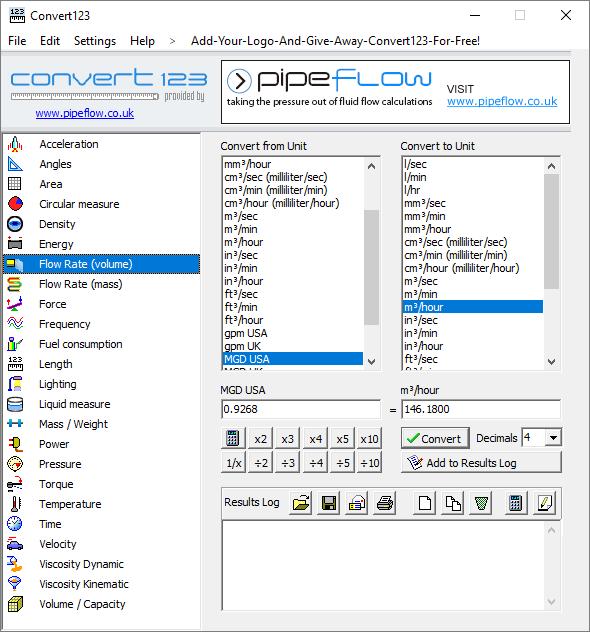 """Convert 123 """"Free"""" Software Program Screen Shot"""