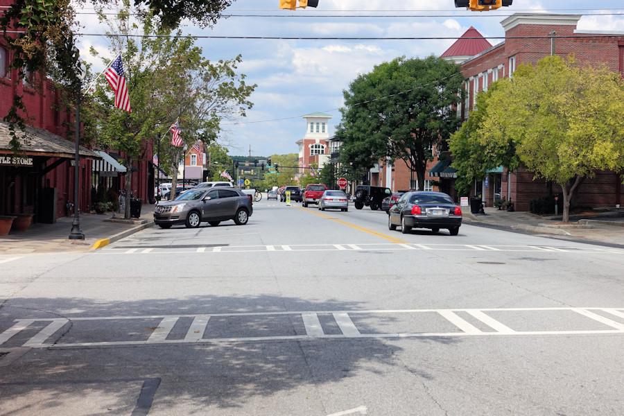 Nice Little Town in Georgia