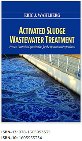 Activated Sludge Wastewater Treatment textbook cover