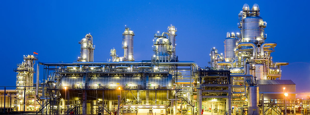 Image of a refinery