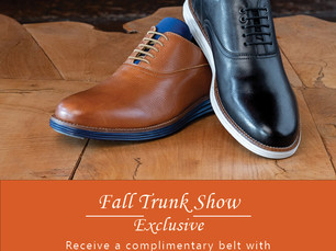 Three Trunk Shows in One - September 29th and 30th