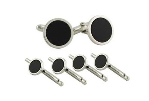 David Donahue - Onyx Swivel Action Stud Set