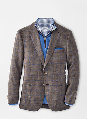 Peter Millar - Classic Windowpane Jacket