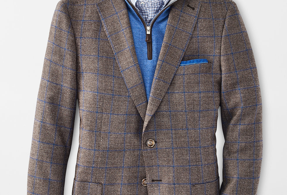 Peter Millar - Classic Windowpane Jacket