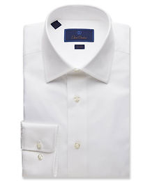David Donahue - Royal Oxford Dress Shirt - Trim Fit