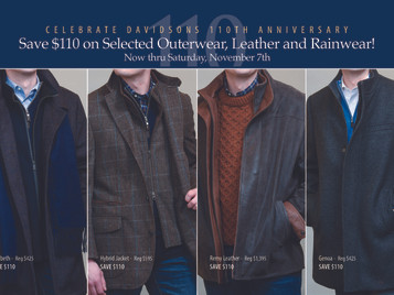 $110 Off Selected Outerwear