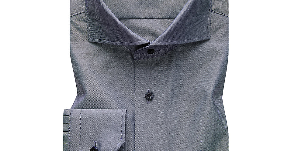 Emanuel Berg - Harvard, Sateen Grey Shirt
