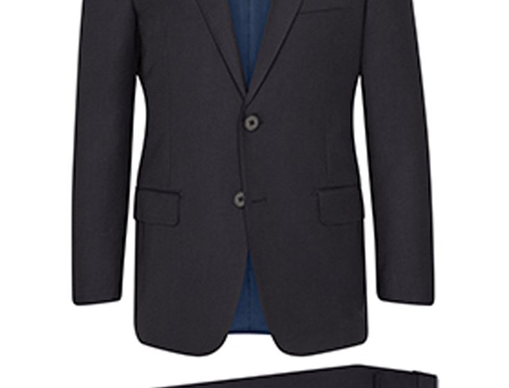 Hickey Freeman - Navy Infinity Suit: B Fit Suit