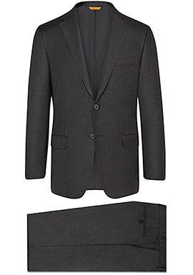 Hickey Freeman - Charcoal Tasmanian Suit: B Fit
