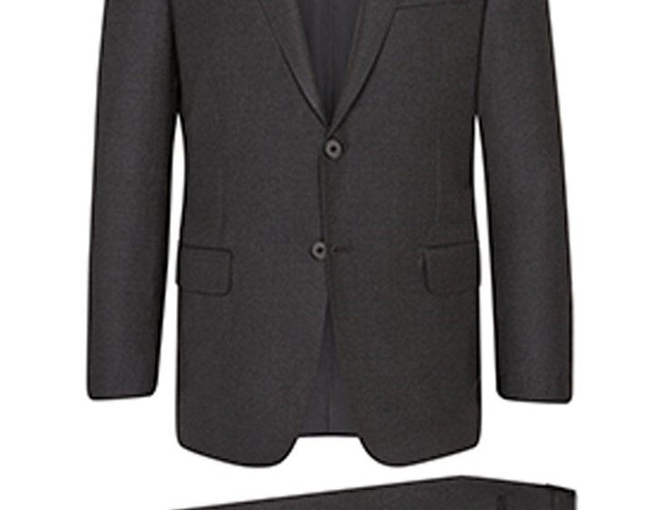 Hickey Freeman - Charcoal Infinity Suit: B Fit