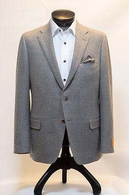 Hickey Freeman - Light Grey Winter Pique Blazer